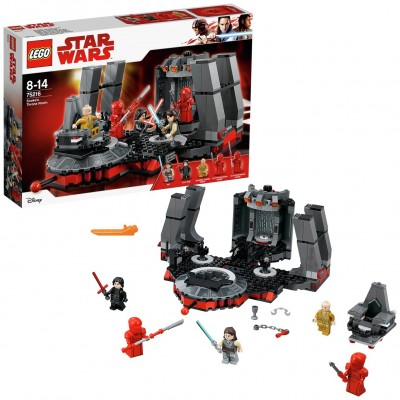 Save £12 at Argos on LEGO Star Wars Snokes Throne Room - 75216