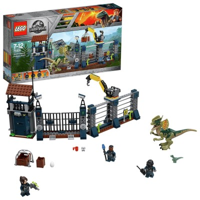 Save £8 at Argos on LEGO Jurassic World Dilophosaurus Attack Dinosaur Toy- 75931