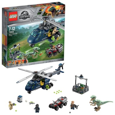 Save £9 at Argos on LEGO Jurassic World Blue's Helicopter Pursuit Toy - 75928