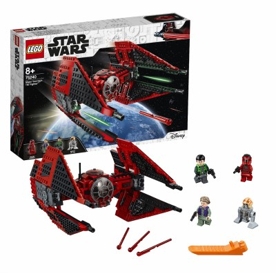 Save £13 at Argos on LEGO Star Wars Resistance Major Vonreg's TIE Fighter - 75240