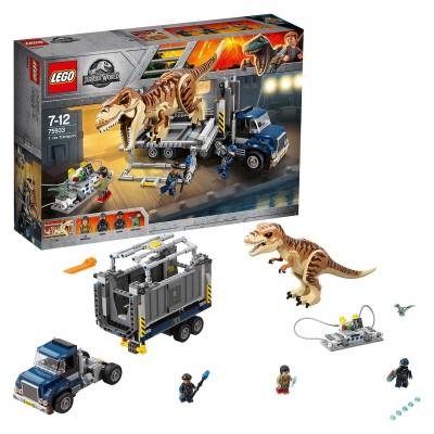 Save £11 at Argos on LEGO Jurassic World T. rex Dinosaur Toy Transport - 75933