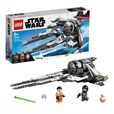 Save £9 at Argos on LEGO Star Wars Resistance Black Ace TIE Interceptor - 75242