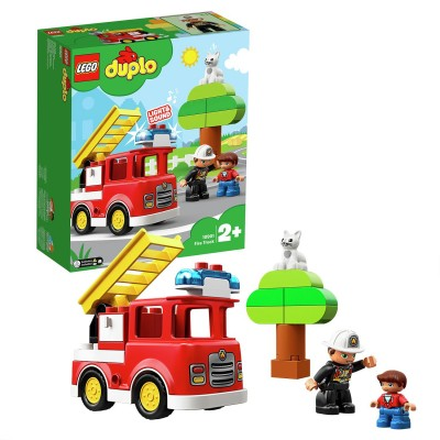 Save £6 at Argos on LEGO DUPLO Fire Toy Truck - 10901