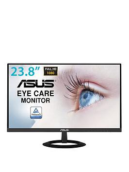 Save £21 at Very on Asus Vz249He Eye Care Monitor, 23.8In, Full Hd, Ips, Ultra-Slim, Frameless, Flicker Free, Blue Light Filter