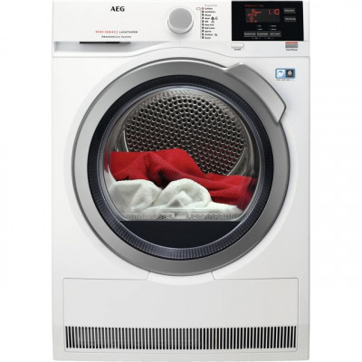 Save £130 at AO on AEG AbsoluteCare Technology T8DBG942R 9Kg Heat Pump Tumble Dryer - White - A++ Rated