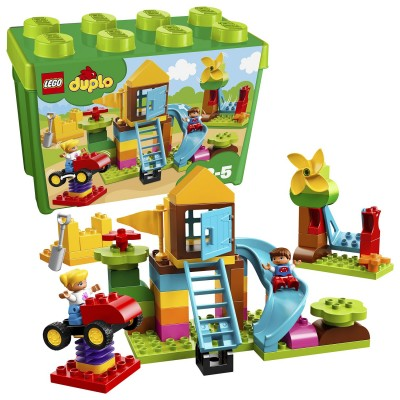 Save £14 at Argos on LEGO DUPLO My First Large Playground Brick Box Toy - 10864