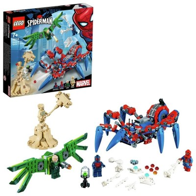 Save £6 at Argos on LEGO Super Heroes Spider-Man's Spider Crawler Set - 76114
