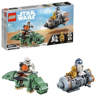 Save £4 at Argos on LEGO Star Wars Escape Pod Dewback Microfighters Set -75228