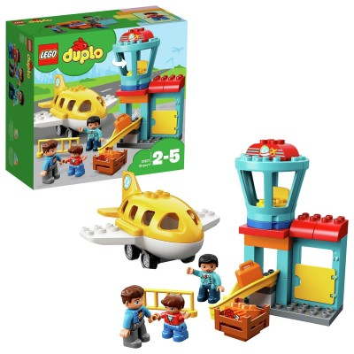 Save £6 at Argos on LEGO DUPLO My Town Airport and Airplane Toy - 10871