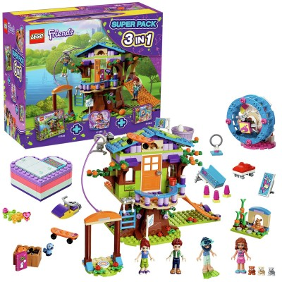 Save £21 at Argos on LEGO Friends 3 in 1 Super Pack - 66620