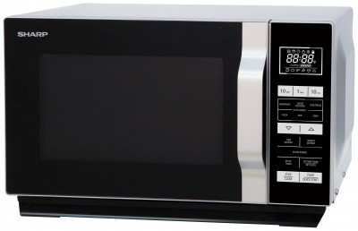 Save £20 at Argos on Sharp 900W Standard Flatbed Microwave R360SLM - Silver