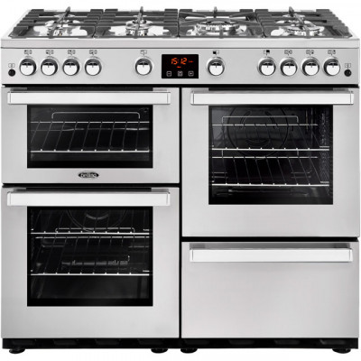 Save £301 at AO on Belling Cookcentre100GProf 100cm Gas Range Cooker - Stainless Steel - A/A Rated