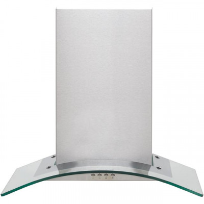 Save £20 at AO on Baumatic BECH60GL 60 cm Chimney Cooker Hood - Stainless Steel / Glass - C Rated