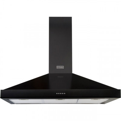 Save £70 at AO on Stoves S900 STER CHIM 90 cm Chimney Cooker Hood - Black - A Rated
