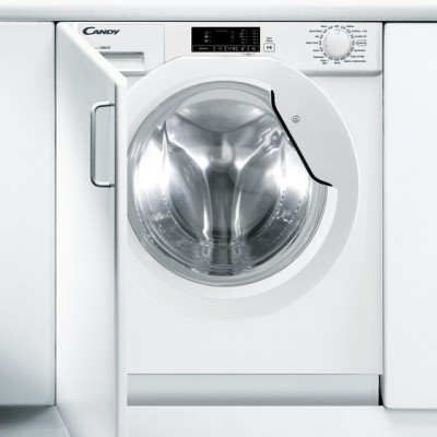 Save £50 at AO on Candy CBWM916D Integrated 9Kg Washing Machine with 1600 rpm - White - A+++ Rated