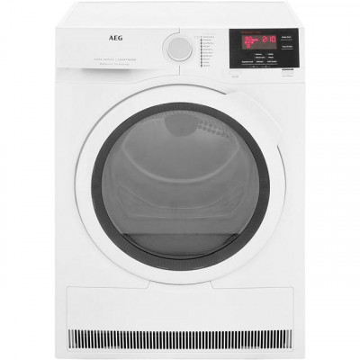 Save £70 at AO on AEG ProSense Technology T6DBG821N 8Kg Condenser Tumble Dryer - White - B Rated
