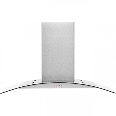Save £31 at AO on Amica OKP9321G 90 cm Chimney Cooker Hood - Stainless Steel - E Rated