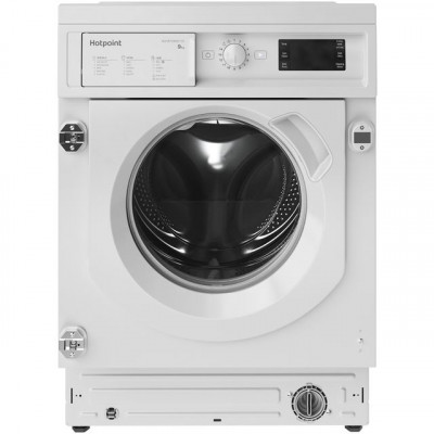 Save £70 at AO on Hotpoint BIWMHG91484UK Integrated 9Kg Washing Machine with 1400 rpm - White - A+++ Rated
