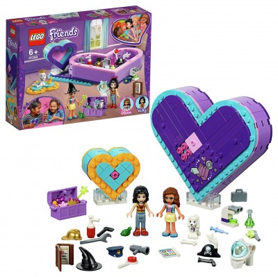Save £5 at Argos on LEGO Friends Heart Box Friendship Box Set - 41359