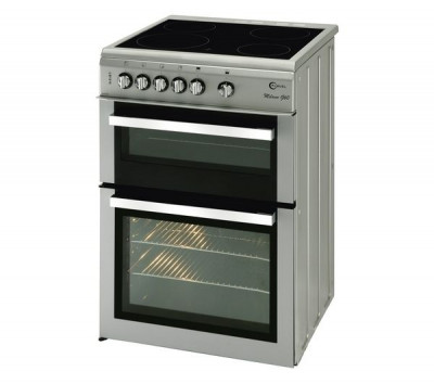 Save £51 at Currys on FLAVEL Milano ML61CDS Electric Ceramic Cooker - Silver & Chrome, Silver