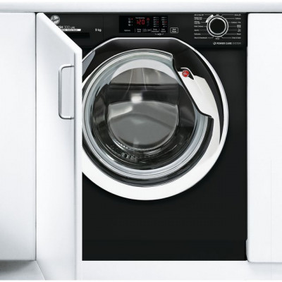 Save £50 at AO on Hoover H-WASH 300 LITE HBWS49D3ACBE Integrated 9Kg Washing Machine with 1400 rpm - Black - A+++ Rated