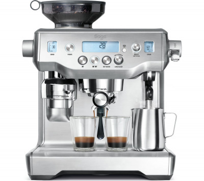 Save £200 at Currys on SAGE by Heston Blumenthal Oracle Bean to Cup Coffee Machine - Silver, Silver
