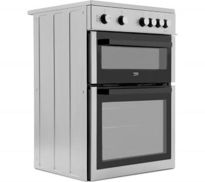 Save £50 at Currys on BEKO XTC611S 60 cm Electric Cooker - Silver, Silver