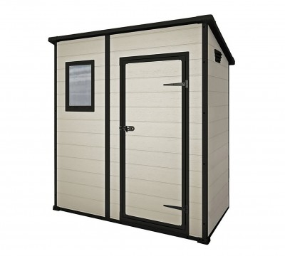 Save £30 at Argos on Keter Manor Pent Garden Storage Shed 6 x 4ft – Beige/Brown