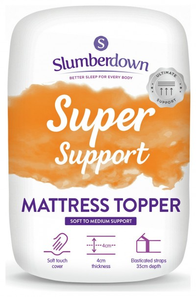 Save £10 at Argos on Slumberdown Support 4cm Mattress Topper - Double