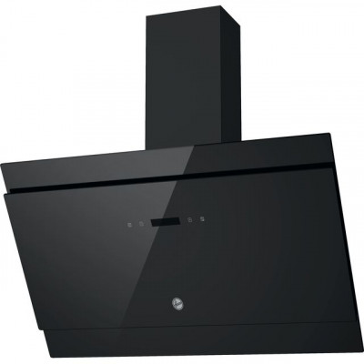 Save £30 at AO on Hoover H-HOOD 500 HDG9DCK3B 90 cm Angled Chimney Cooker Hood - Black / Glass - A Rated