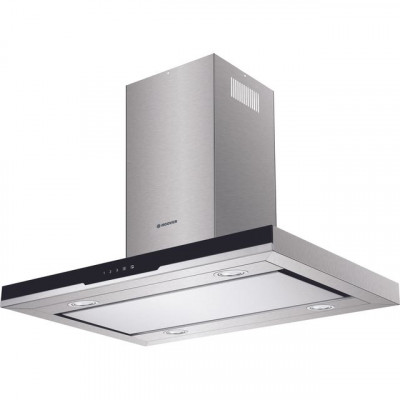 Save £50 at AO on Hoover H-HOOD 700 HDSVI985B 90 cm Island Cooker Hood - Stainless Steel / Black Glass - A Rated