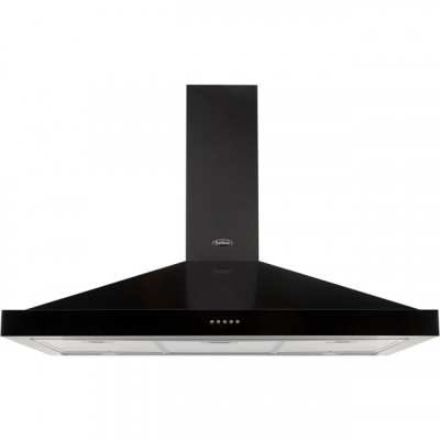 Save £30 at AO on Belling FARMHOUSE 100 CHIM 100 cm Chimney Cooker Hood - Black - D Rated