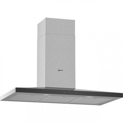Save £52 at AO on NEFF N50 D94QFM1N0B 90 cm Chimney Cooker Hood - Stainless Steel - A Rated