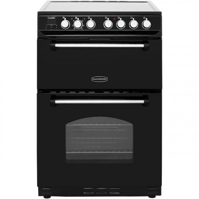 Save £70 at AO on Rangemaster Classic 60 CLAS60ECBL/C 60cm Electric Cooker with Ceramic Hob - Black / Chrome - A/B Rated