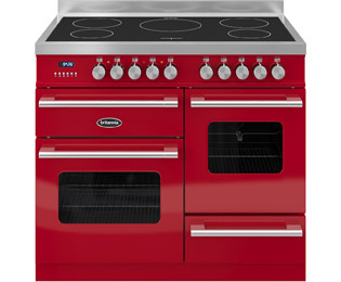 Save £472 at AO on Britannia Delphi RC-10XGI-DE-RED 100cm Electric Range Cooker with Induction Hob - Red - A/A Rated
