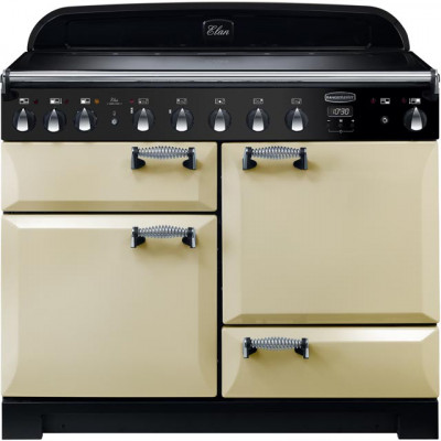 Save £340 at AO on Rangemaster Elan Deluxe ELA110EICR 110cm Electric Range Cooker with Induction Hob - Cream - A/A Rated