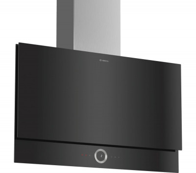 Save £100 at Currys on BOSCH DWF97RV60B Chimney Smart Cooker Hood - Black, Black