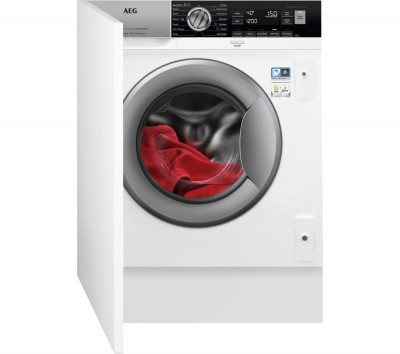 Save £100 at Currys on AEG Series 8 L7FC8432BI Integrated 8 kg 1400 Spin Washing Machine