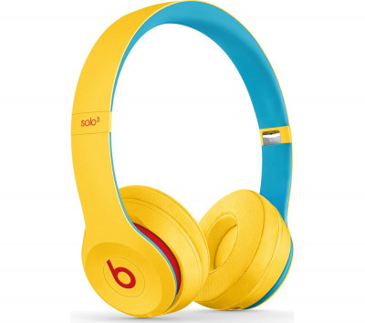 Save £24 at Currys on BEATS Solo 3 Wireless Bluetooth Headphones - Club Yellow, Yellow