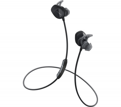 Save £30 at Currys on BOSE SoundSport Wireless Bluetooth Headphones - Black, Black