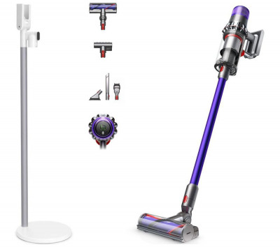 Save £100 at Currys on DYSON V11 Animal Cordless Vacuum Cleaner & V11 Floor Dock Bundle - Purple, Purple