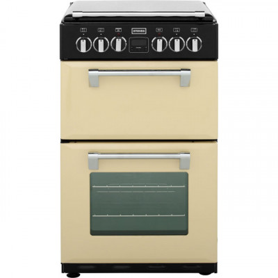 Save £100 at AO on Stoves Mini Range RICHMOND550E 55cm Electric Cooker with Ceramic Hob - Champagne - A/A Rated