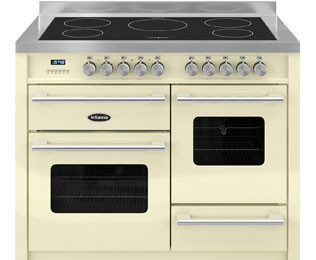 Save £700 at AO on Britannia Delphi RC-11XGI-DE-CR 110cm Electric Range Cooker with Induction Hob - Cream - A/A Rated