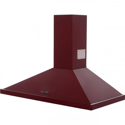 Save £100 at AO on Rangemaster LEIHDC100CY/C 100 cm Chimney Cooker Hood - Cranberry - B Rated