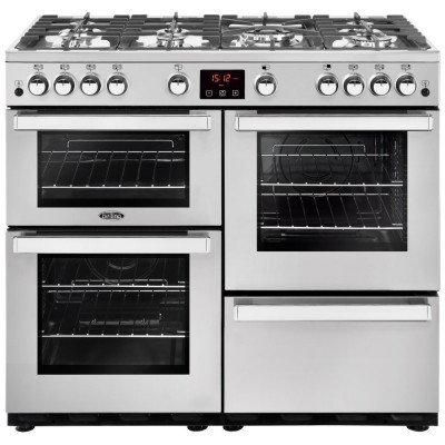 Save £200 at Appliance City on Belling COOKCENTRE 100GPROFSTA 4087 100cm Gas Range Cooker - STAINLESS STEEL
