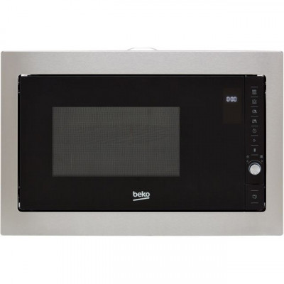 Save £70 at AO on Beko MGB25332BG Built In Microwave With Grill - Black / Stainless Steel
