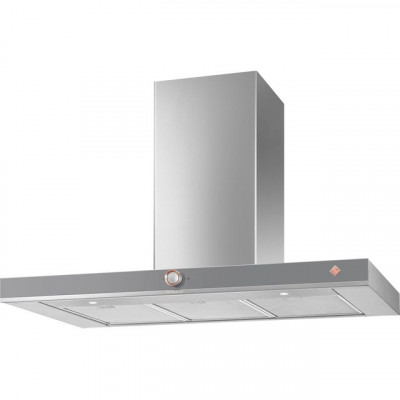 Save £84 at AO on De Dietrich DHB7952G 90 cm Chimney Cooker Hood - Grey - A+ Rated