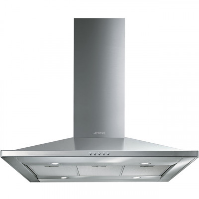 Save £119 at AO on Smeg KI90CE 90 cm Island Cooker Hood - Stainless Steel - B Rated