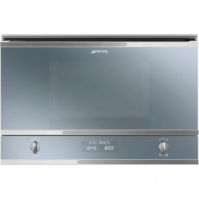 Save £70 at AO on Smeg Classic MP422S Built In Microwave with Grill - Silver Glass
