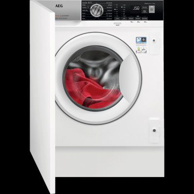 Save £70 at AO on AEG ProSteam Technology L7FE7461BI Integrated 7Kg Washing Machine with 1400 rpm - White - A+++ Rated